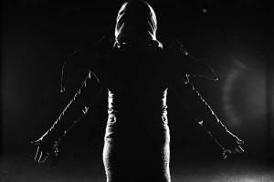 Emnepræmie nr. 18 i FotoMarathon 2014. Emne nr. 18: Mørkets dæmoner. Fotograf: Anne-Rikke Bolt Jensen